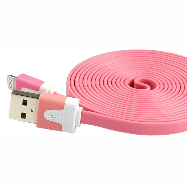 6' USB 2.0 Lightning Cable - Male/Male - Pink