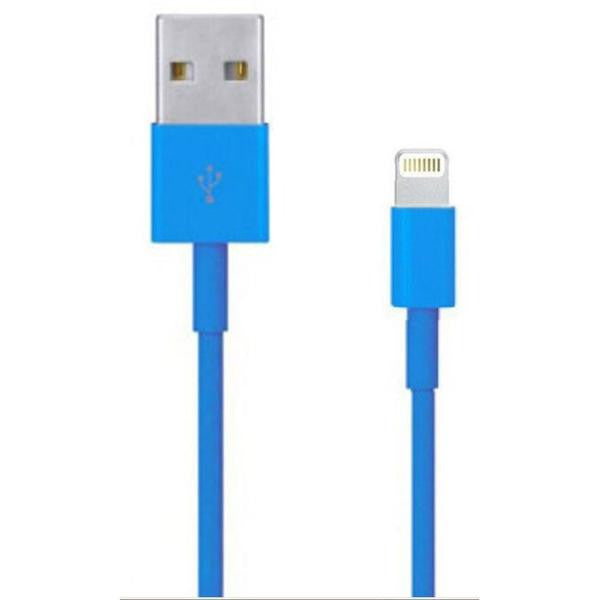 3' USB 2.0 Lightning Cable - Male/Male - Blue