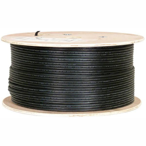 1000' Solid - CAT5e CMX Network Cable - Outdoor Direct Burial with CCS Messenger