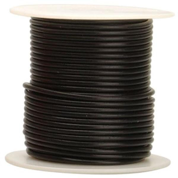 1000' Outdoor RG6/U Double Shielded CCS Coax Cable - Gel Filled - Black