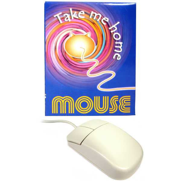 2 Button Mouse - PS/2