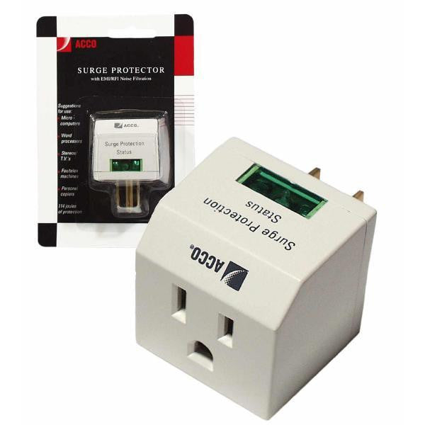 1 AC Outlet for Notebook Protection with EMI/RFI Protection