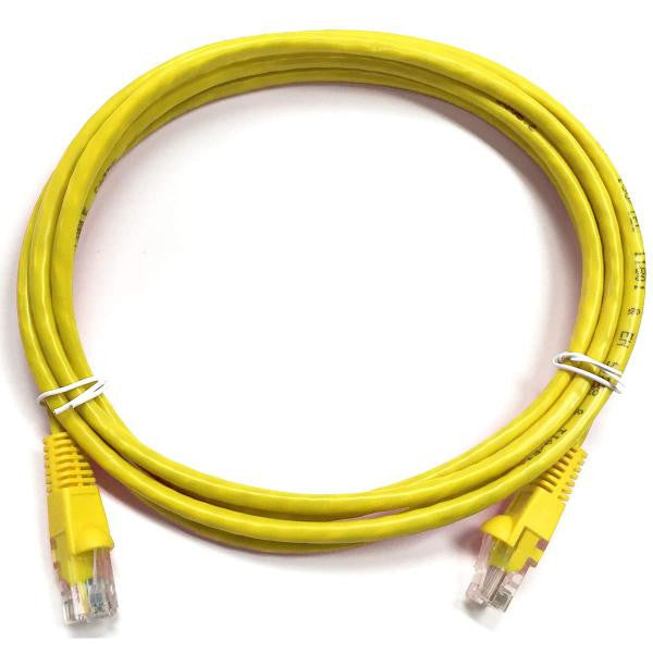 1.5' CAT6 (500MHz) UTP Network Cable - Yellow