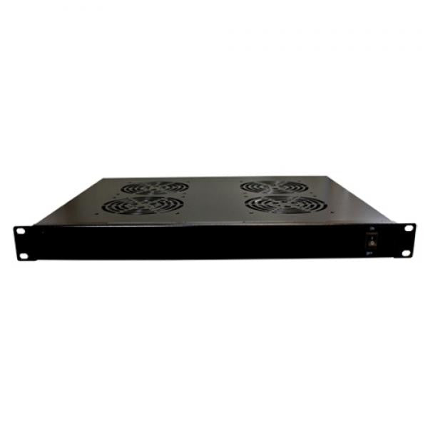 1U 4 Fan Cooling Unit for Cabinets and Racks