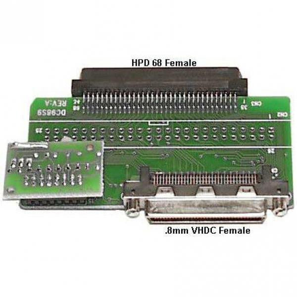 .8mm VHDC-F to HPDB68F Internal Adapter- with Terminator