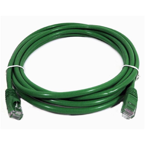1' CAT5e (350 MHz) UTP Network Cable - Green - TechCraft