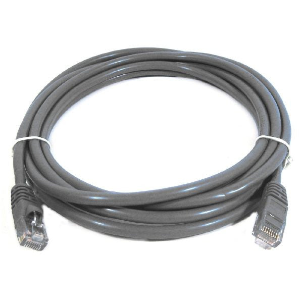 10' CAT5 (100MHz) Cross-Wired Network Cable - Stranded - Grey