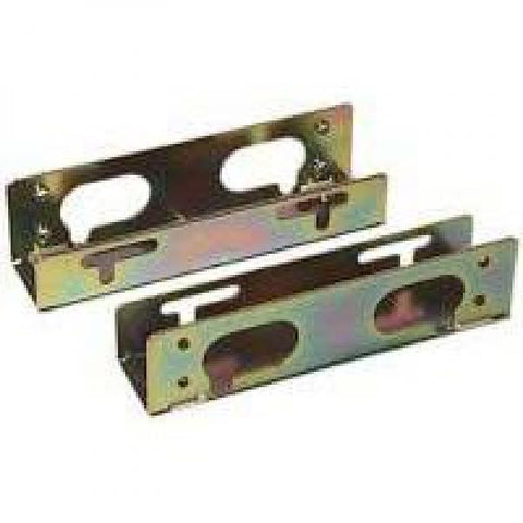 "3 1/2"" Metal Hard Drive Rails with Screws"