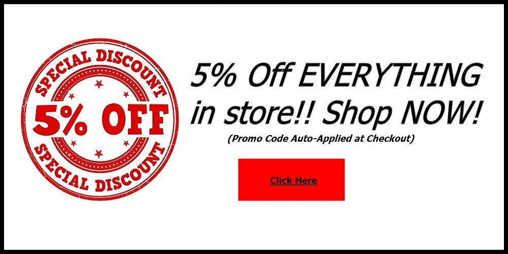 5% Off Everything!