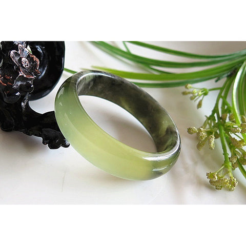 Natural Jade Bangle Bracelet