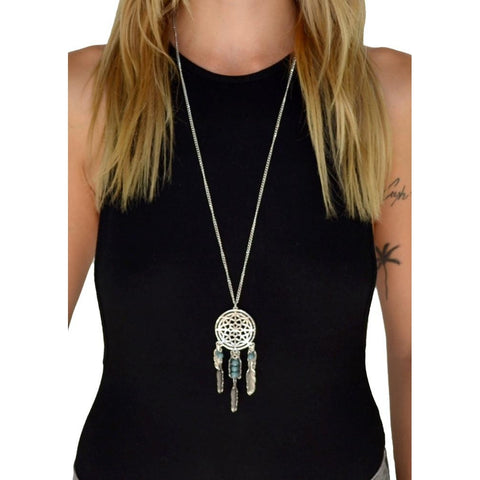 Dreamcatcher Chain Necklace