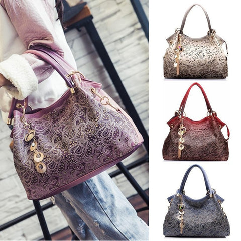 Casual Ornate Shoulder Bag