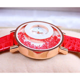 Crystal Sand Quartz Wristwatch