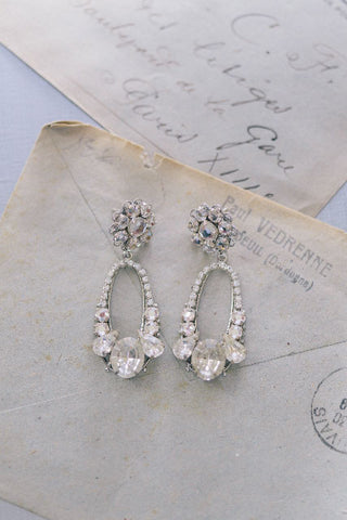 Bridal: Chandelier Earrings