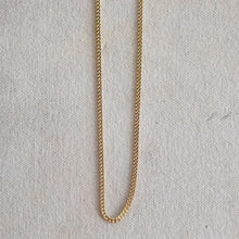 Load image into Gallery viewer, Gold Plated Curb Chain