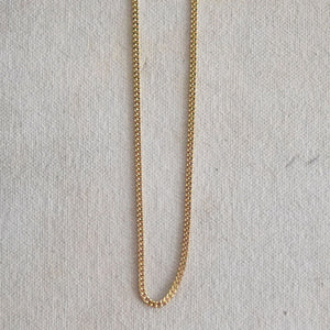 Gold Plated Curb Chain