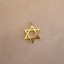 Load image into Gallery viewer, Star of David Charm