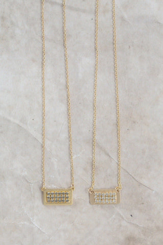 Mini Tab Necklace