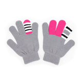 Warmsters Grey Monster Gloves Scarrie Pair