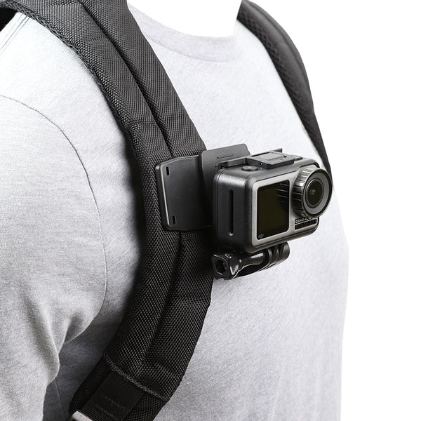 Backpack Clip Clamp Mount for GoPro