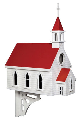 Country Church Birdhouse - Large