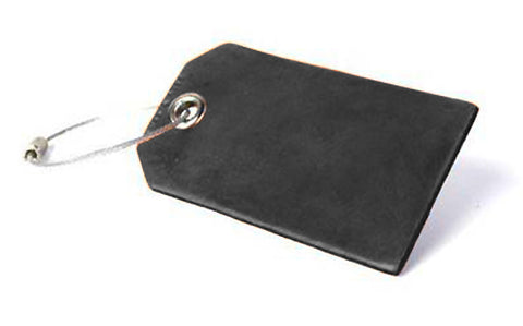 Buffalo Hide Luggage Tag