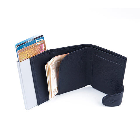 c-secure XL Coin Wallet/Cardholder with RFID protection