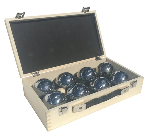easy days Boules (Petanque) In Your Court in Wooden Box