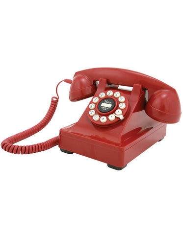 Retro Telephone - Red