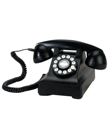 Retro Telephone - Black