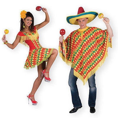 Couples Mexican Costumes