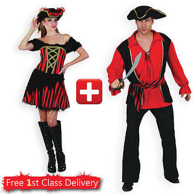 Couples Pirate Costume