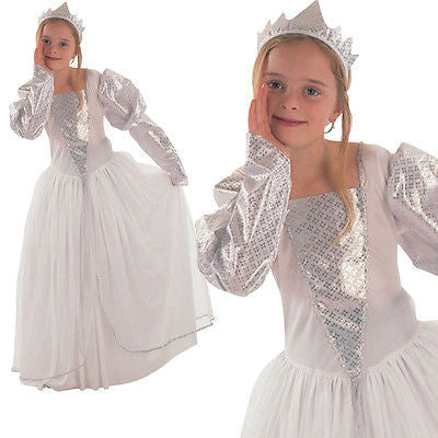 Girls Snow Queen Costume
