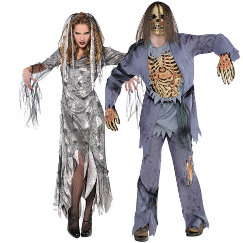 Ladies Graveyard Zombie Costume