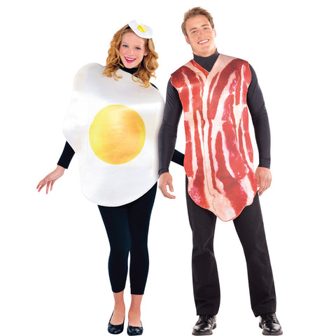 Couples Breakfast Buddies Costumes