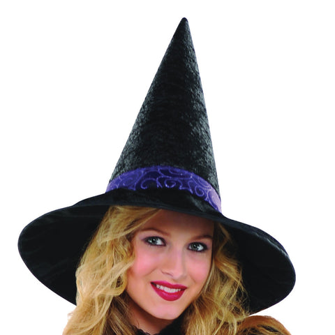 Ladies Purple Witch Costume