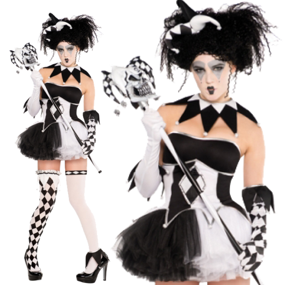 Ladies Tricksterina Costume