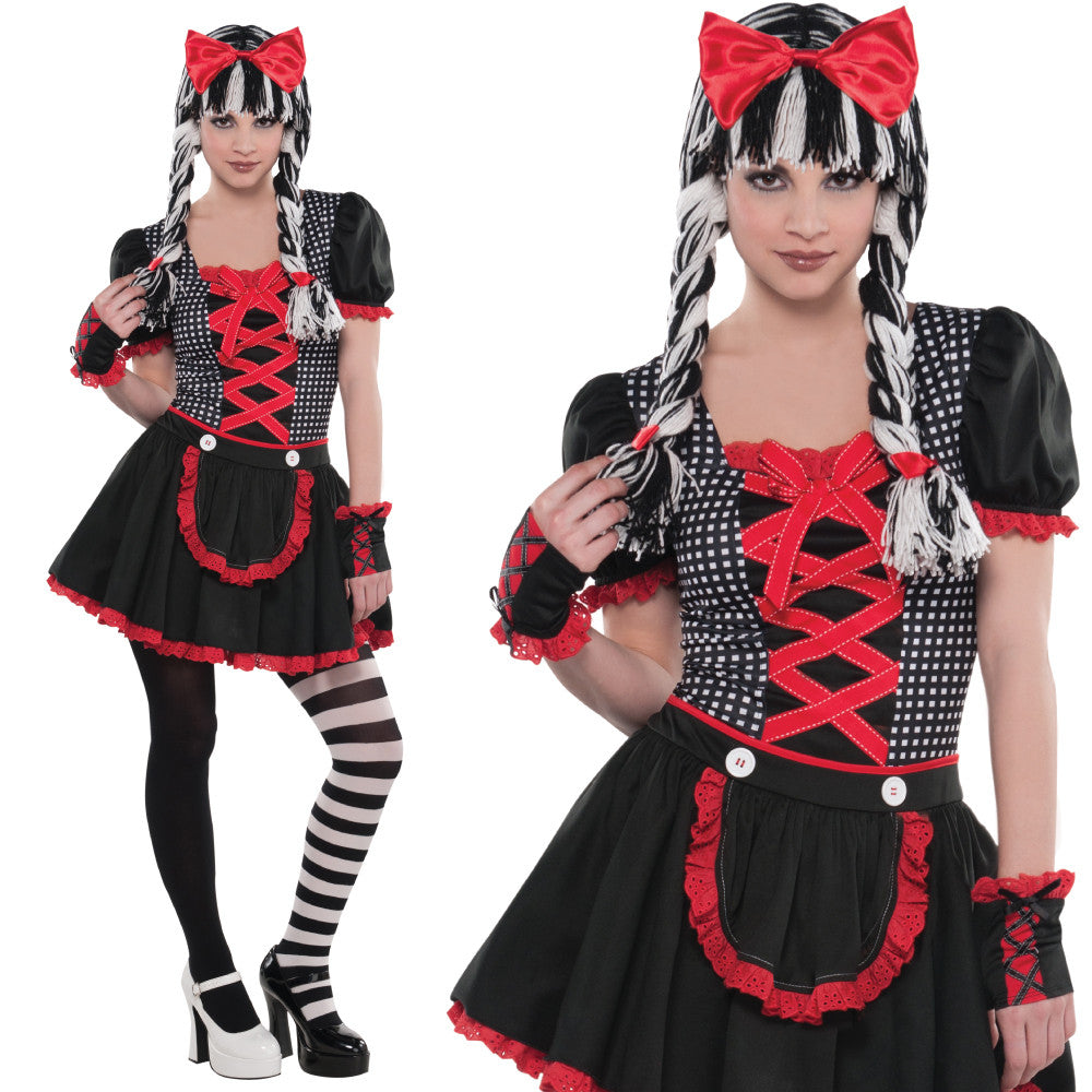 Teen Goth Doll Costume