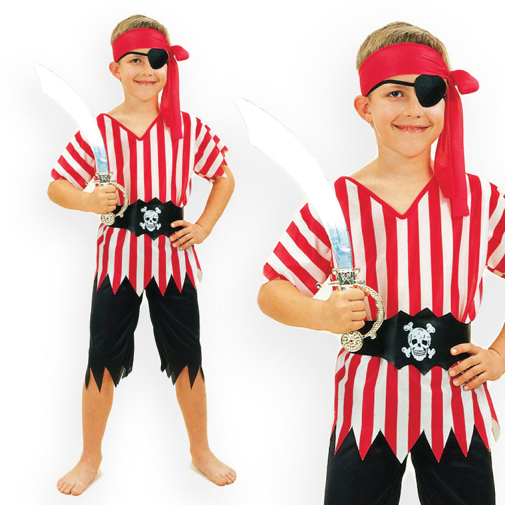 Boys Pirate Costume  sc 1 st  Fancy Dress Madness & Kids Pirate Costumes Pirate Boy Pirate Girl Pirate Party Book Week ...