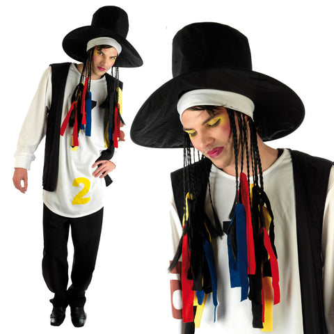 Mens 80's Boy George Costume