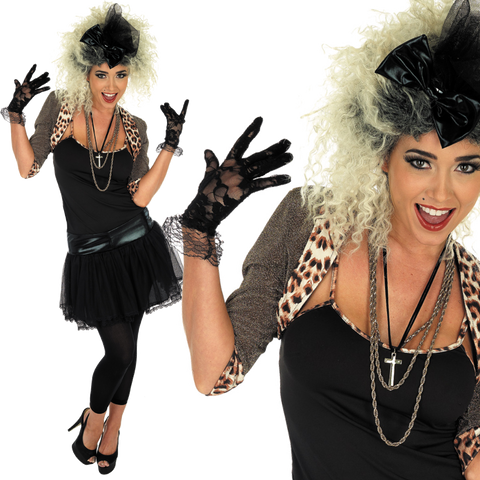 Ladies 80's Madonna Costume