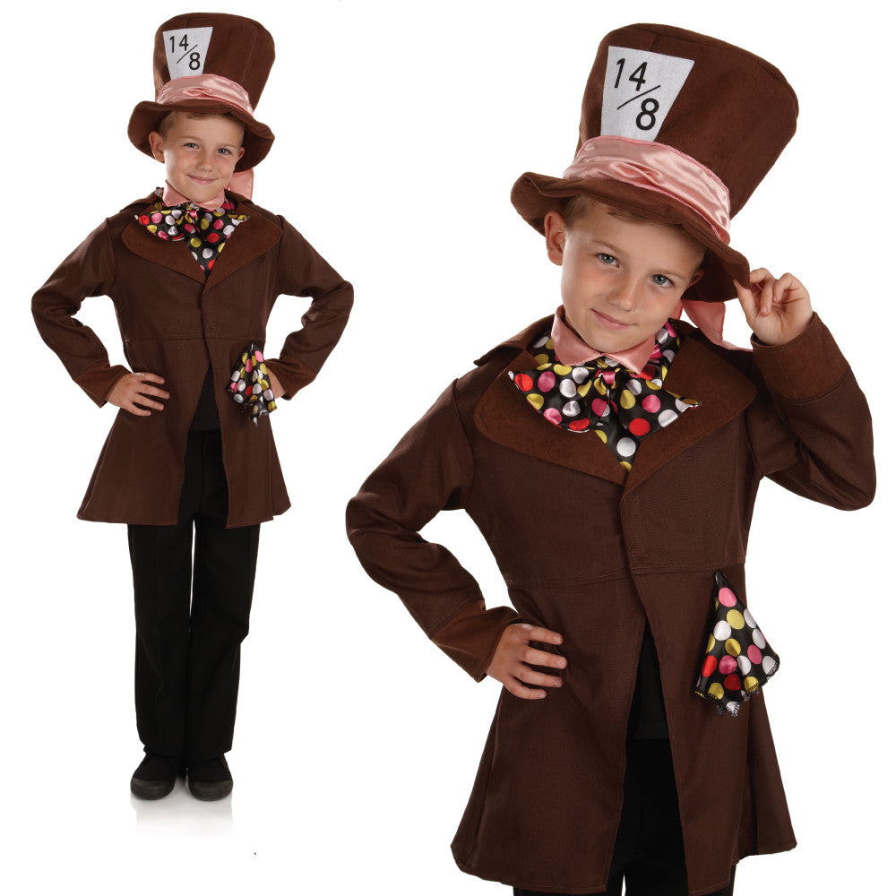 Boys Little Mad Hatter Costume