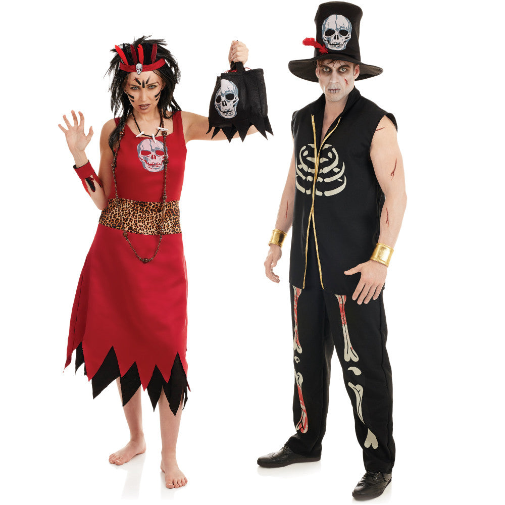 Mens Voodoo Witch Doctor Costume – Fancy Dress Madness