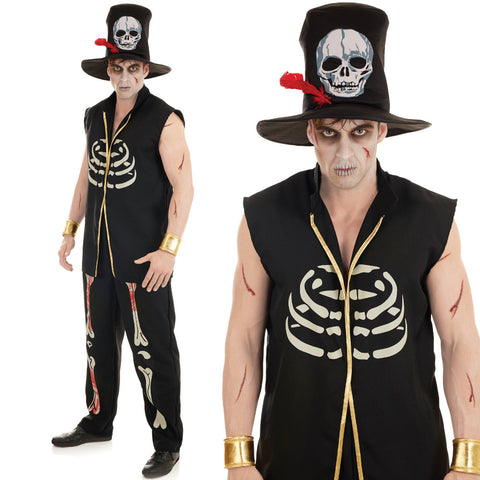Mens Voodoo Witch Doctor Costume