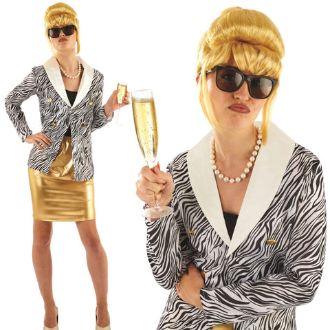 Ladies Ab Fab Patsy Costume