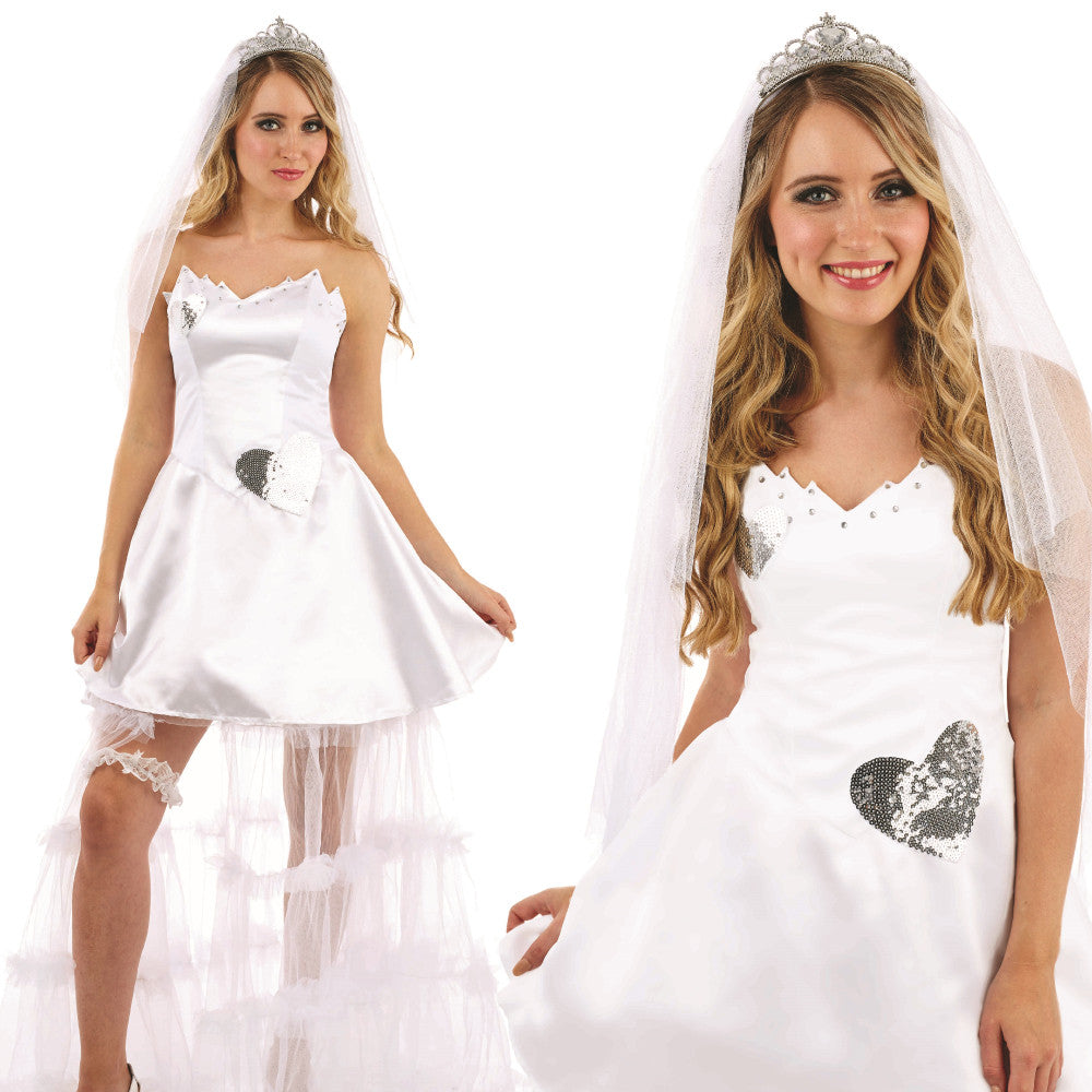 Ladies Pretty Bride Costume