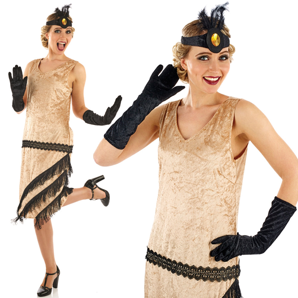 Ladies Charleston Flapper Girl Costume