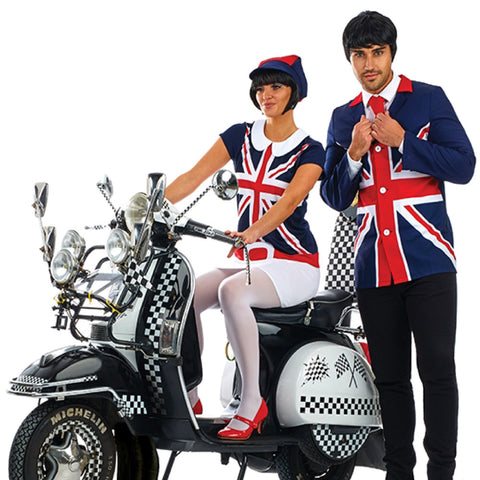 Ladies 1960s Mod Costume