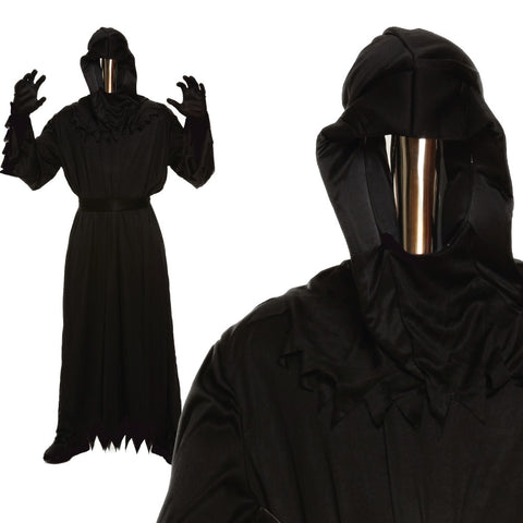 Adult Grim Reaper Mirror Mask Costume
