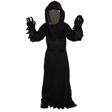 Kids Grim Reaper Mirror Mask Costume